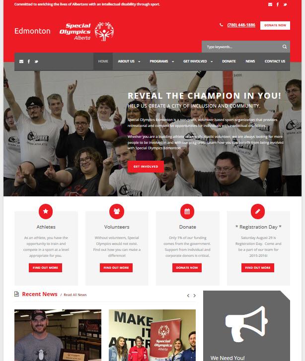 Special Olympics Edmonton