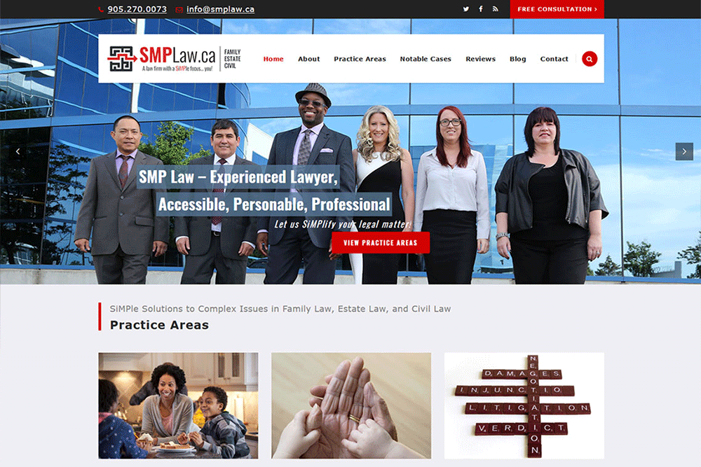 SMP Law Website