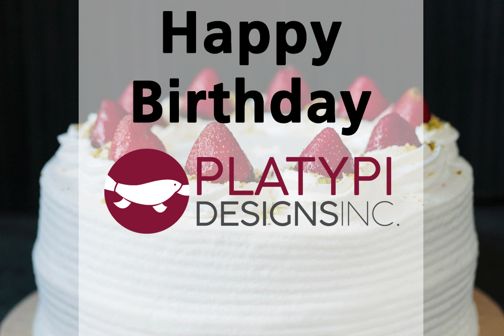 Happy birthday Platypi!