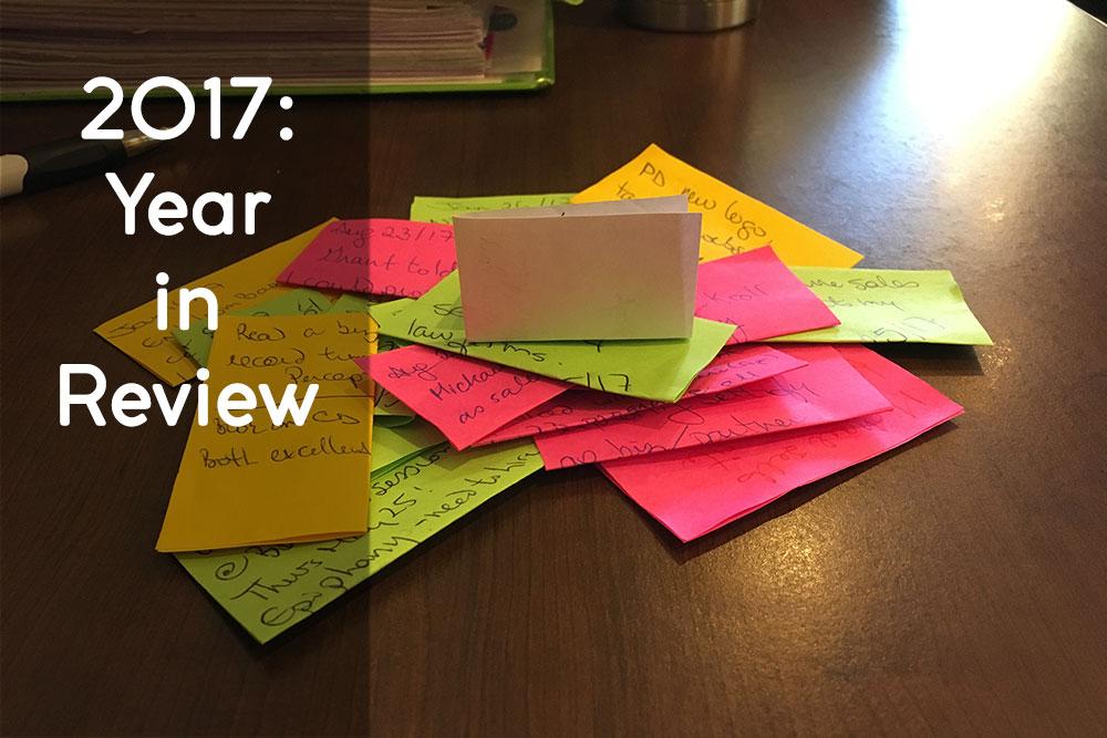 Blog sticky notes
